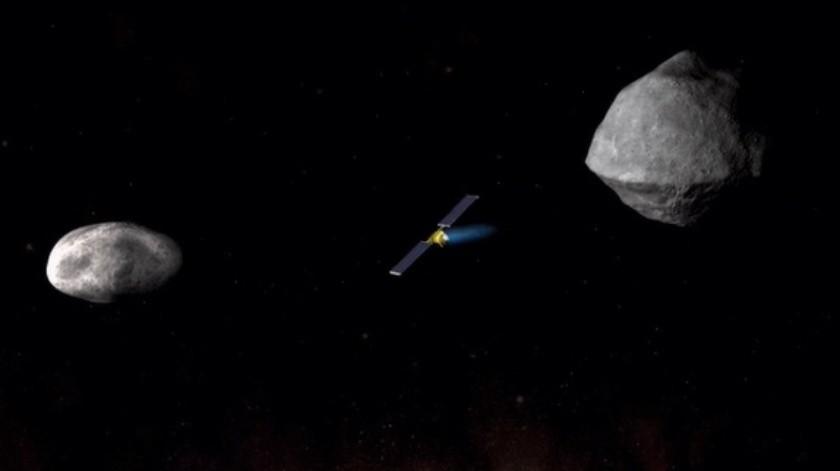 NASA afina detalles de la misión DART con la que tratará de desviar asteroide