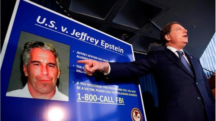 """La Oficina Federal de Investigaciones (FBI, en inglés) de Estados Unidos detuvo a la """"socialite"""" británica Ghislaine Maxwell, socia del fallecido magnate acusado de abuso de menores Jeffrey Epstein(EFE)"""