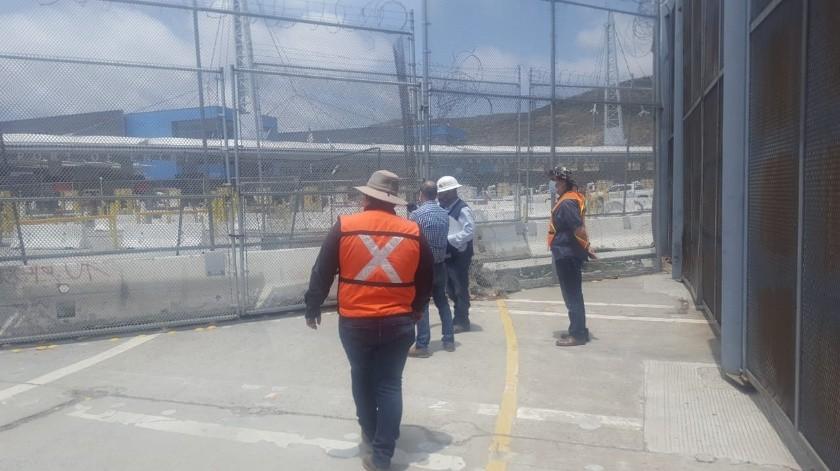 Inicia ampliación de Puerta México-San Ysidro(Cortesía)