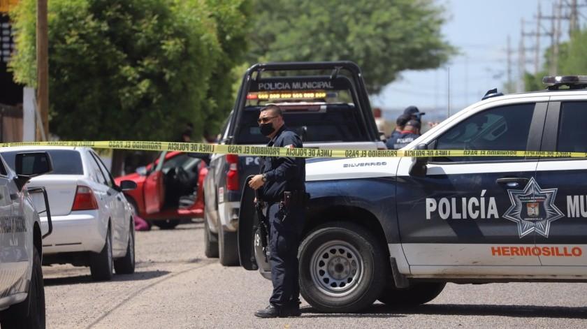 Agresión armada deja a hombre sin vida en la zona industrial de Hermosillo(Especial)