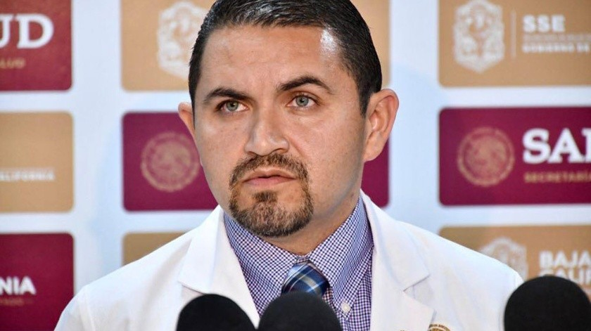 Alonso Pérez Rico, secretario de Salud de Baja California.