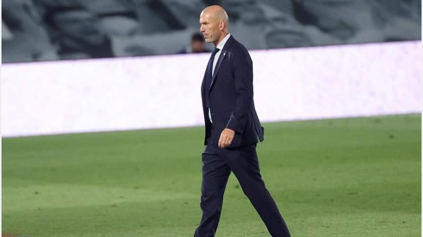 Zinedine Zidane asegura que los éxitos se consiguen a base de sufrimiento en el fútbol(EFE)