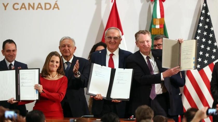 México publica en Diario Oficial decretos de leyes armonizadas con T-MEC(EFE)