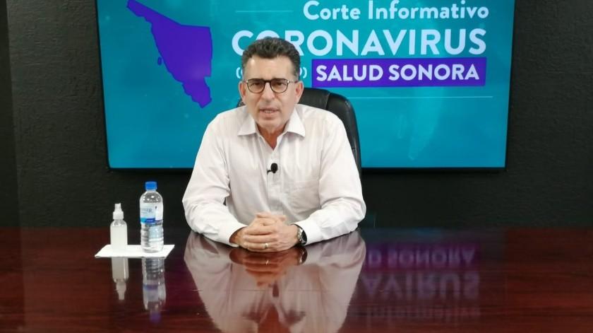 El secretario de Salud de Sonora, Enrique Clausen, dio positivo a coronavirus, dijo la gobernadora Claudia Pavlovich en su cuenta de Twitter.