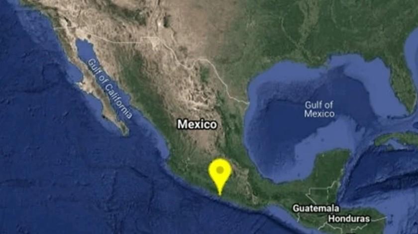 Sismo magnitud 4.6 sacude Coyuca de Benítez, Guerrero(Especial)