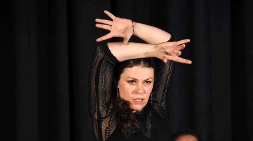 A las 19:00 horas el flamenco con la maestra Martha Bonilla Padilla.(Cortesía)