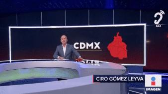La jefa de gobierno de la Ciudad de México, Claudia Sheinbaum Pardo, recordó que el semáforo epidemiológico de la capital continúa en naranja.