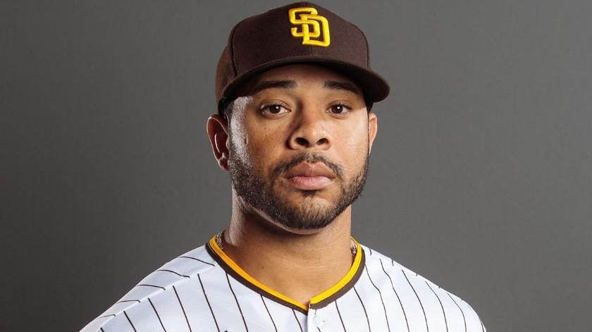 Tommy Pham, juega como jardinero y la 2020 será su primera temporada con los Padres de San Diego, acaba de llegar en un cambio con Tampa Bay Rays.(Tomada de la red)