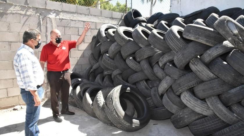Recolectan más de 400 neumáticos en tan solo dos días(Especial)