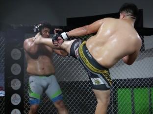 Éxito en función a puerta cerrada de MMA en Tijuana