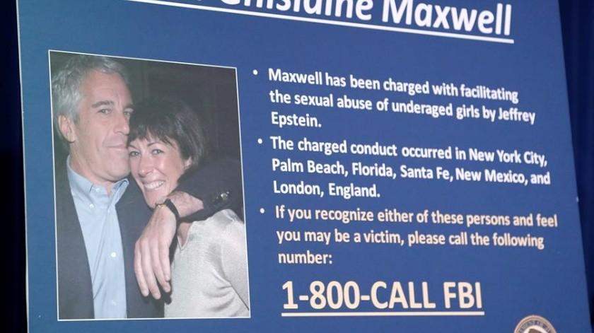Cercanos a Ghislaine Maxwell, ex pareja de Jeffrey Epstein, preocupados por su seguridad en prisión(EFE)