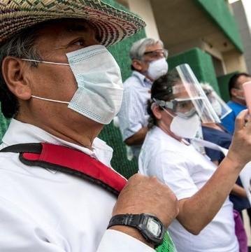 Covid-19: México registra nuevo récord de contagios en un día con 6 mil 914