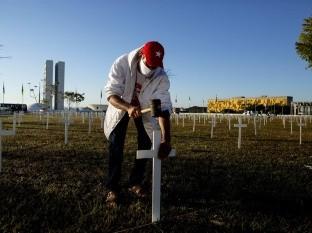 Brasil registra más de mil muertes por Covid-19 por quinto día consecutivo