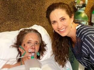 Ceci no disfrutó un día en su casa con su familia ya que tuvo que regresar al hospital.
