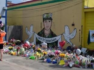Cientos marchan en Houston para exigir justicia por el asesinato de la soldado Vanessa Guillén