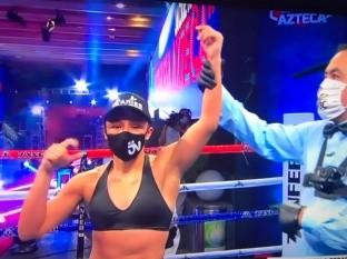 Jackie Nava reaparece con victoria