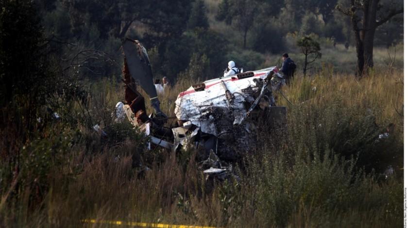 Sedena encuentra Learjet calcinado, sin tripulación ni carga, en la costa de Chiapas(Archivo GH / Ilustrativa)
