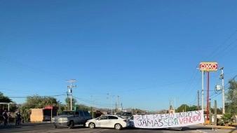Grupo amenaza con nuevo bloqueo en frontera de Sonoyta