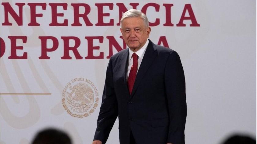 El Presidente Andrés Manuel López Obrador dijo que hoy por la tarde se realizará la prueba de Covid-19, debido a su viaje a Washington.(Gobierno de México)