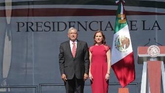 Beatriz Gutiérrez no acompañará a AMLO a Washington