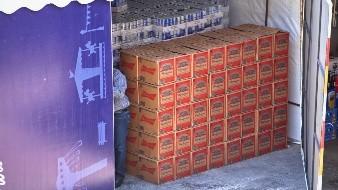 Licitarán cerveza decomisada; dinero irá a causa social