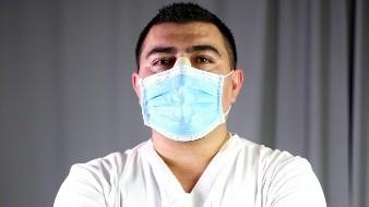 Enfermero vence al Covid: ahora da pelea por Mexicali