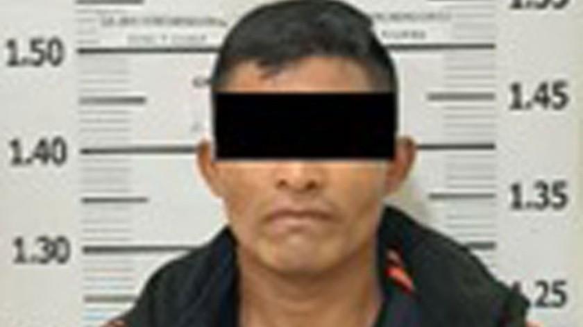 """El detenido está identificado como Javier Simón """"N"""" .(Cortesía)"""