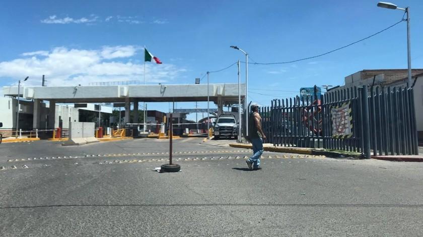 Naco y Agua Prieta concluyen operativo restrictivo(Diyeth Arochi)