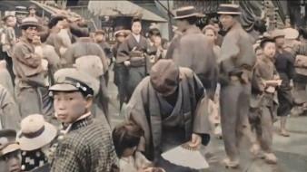VÍDEO: Restauran a color vídeo de Tokio en 1913-1915