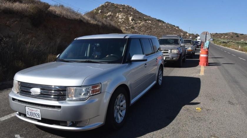 Cruzaron 11 mil 500 vehículos por los filtros fijos durante el fin de semana