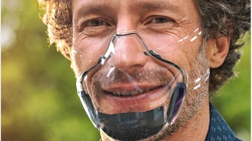 EU aprueba cubrebocas transparente que se vincula a tu móvil