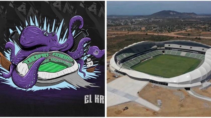 'Kraken', el nombre del estadio del Mazatlán FC(Twitter @calientesports)