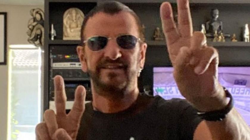 Ringo Starr celebrará a lo grande su 80 cumpleaños.(Cortesía Twitter)