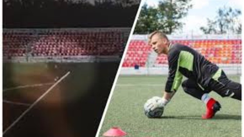 VIDEO: Momento en cae un rayo en futbolista de 16 años(Tomada de la red)
