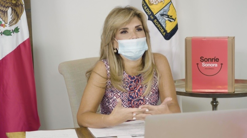 Gobernadora Claudia Pavlovich da negativo a coronavirus(GH)