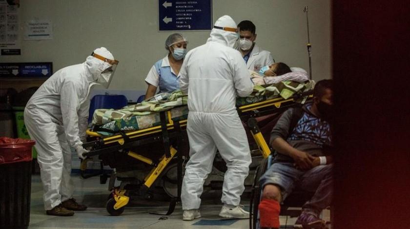 Latinoamérica se confirma como epicentro de pandemia por Covid-19; supera a EU y Europa(EFE)