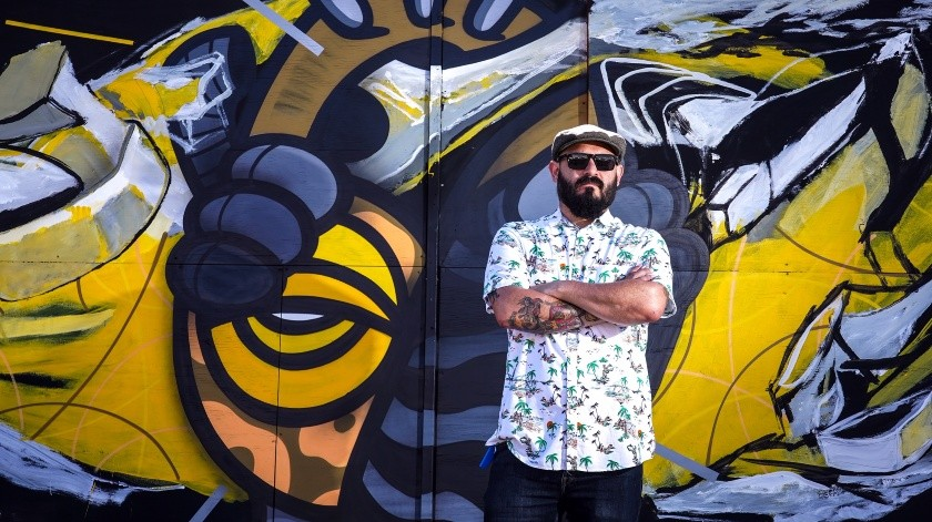 "Hacen segundo mural para ""Nutriendo Héroes""(Víctor Medina)"