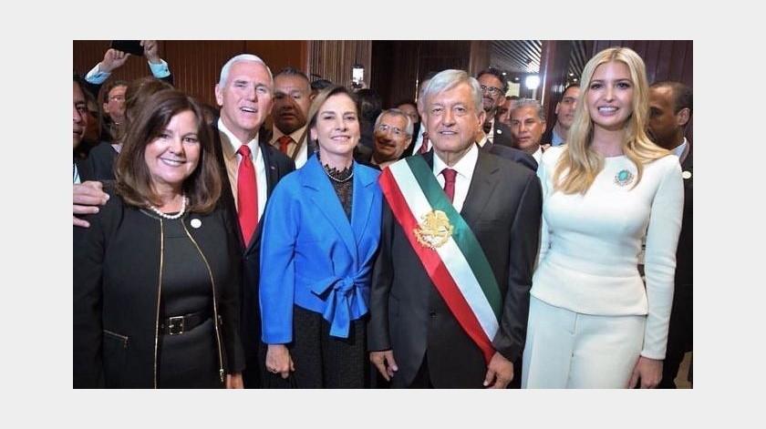 Ivanka sube foto con AMLO por visita a Trump y Beatriz Gutiérrez le responde(Twitter/ @IvankaTrump)