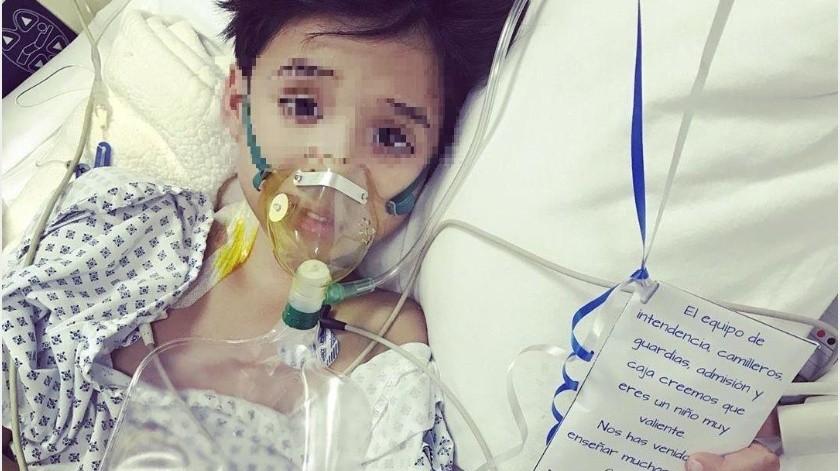 Carlitos está siendo atendido en un hospital privado de Ciudad Obregón.(Especial)