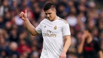 Luka Jovic aislado por el Real Madrid por ser caso sospechoso de Covid-19