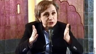 """Critican a Carmen Aristegui por subir """"error"""" sobre visita de AMLO a EU; ofrece disculpa"""
