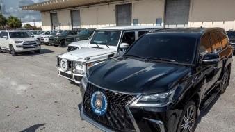 EU confisca 81 vehículos que iban a ser enviados a Venezuela