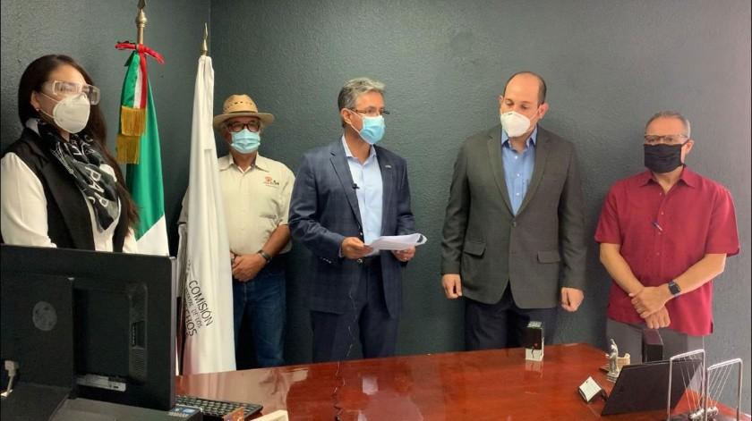 Juan Manuel Hernández Niebla, presidente del Consejo Ciudadano de Seguridad Pública del Estado presentó la denuncia.