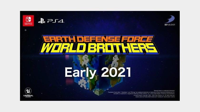 Earth Defense Force: World Brothers llegará a PS4 y Nintendo Switch en 2021