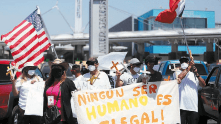 Esperan terminen ataques a migrantes tras reunión en EU(Gustavo Suárez)