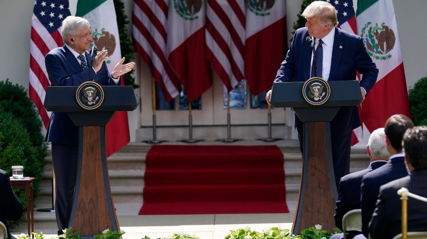 Sostuvieron una reunión por la mañana en la Casa Blanca.(AP)