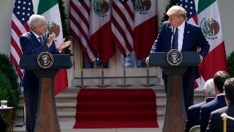 AMLO y Trump acuerdan impulsar más a la región