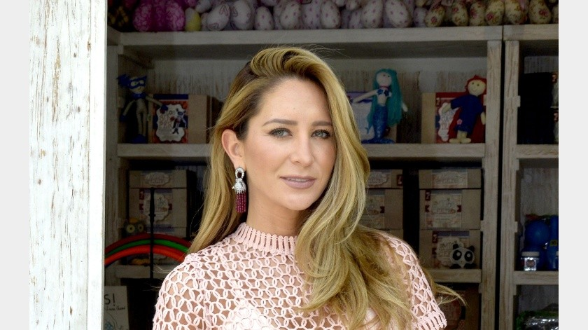 Geraldine Bazán.(Agencia México)