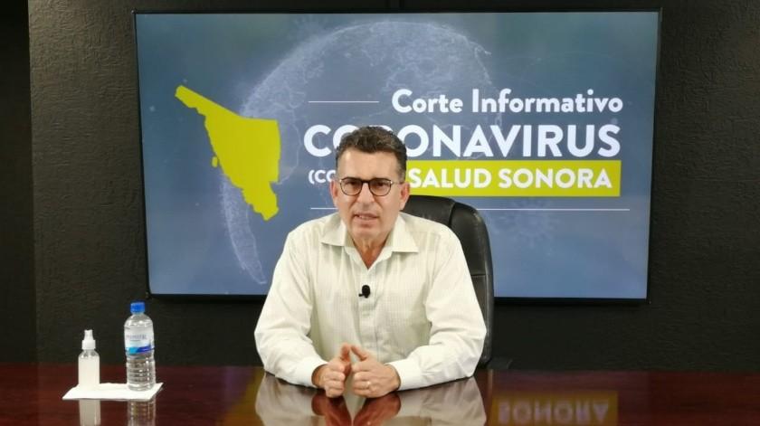 Reportan delicado pero estable a secretario de Salud Sonora, Enrique Clausen, tras positivo a Covid-19(GH)