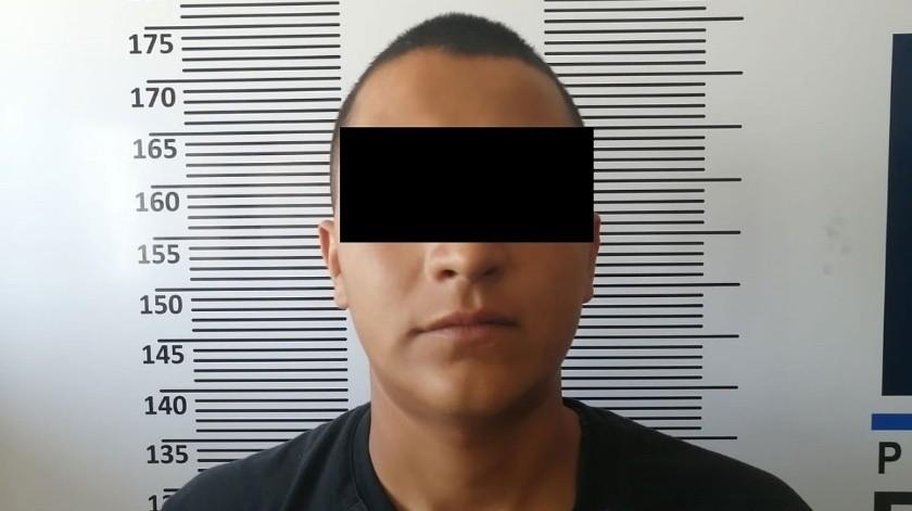 """El detenido es Cristian """"N"""".(Cortesía)"""